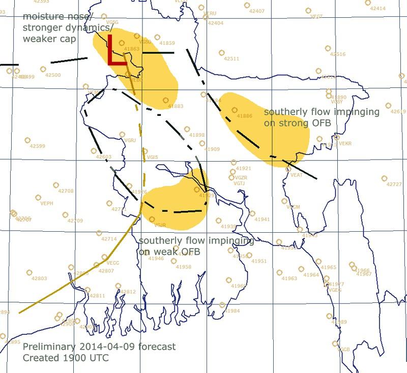 Tim Vasquez forecasted boundary locations.